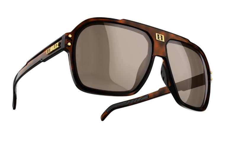 Bliz Targa, Demi Brown Frame, Polarized Brown with Silver Mirror Lens Polarized Sunglasses 84.95 Enjoy Winter