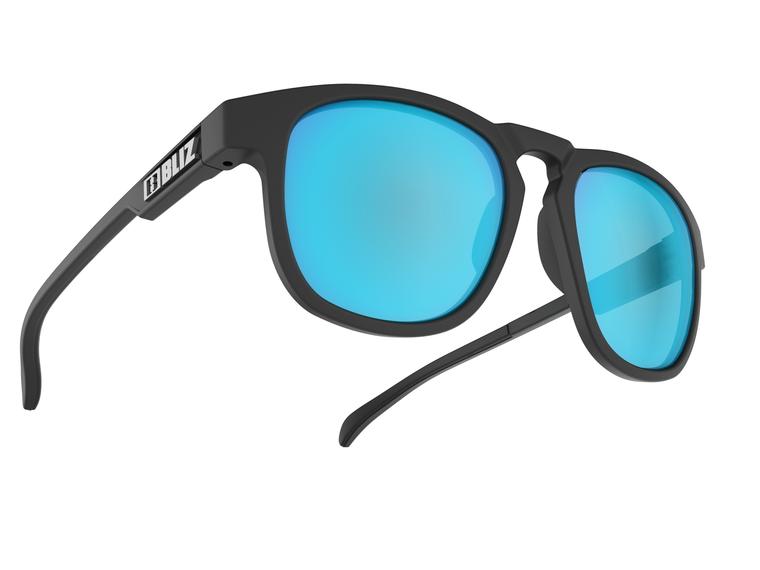 Bliz Ace, Matte Rubber Black Frame, Smoke with Blue Multi Lens Ace 64.95 Enjoy Winter