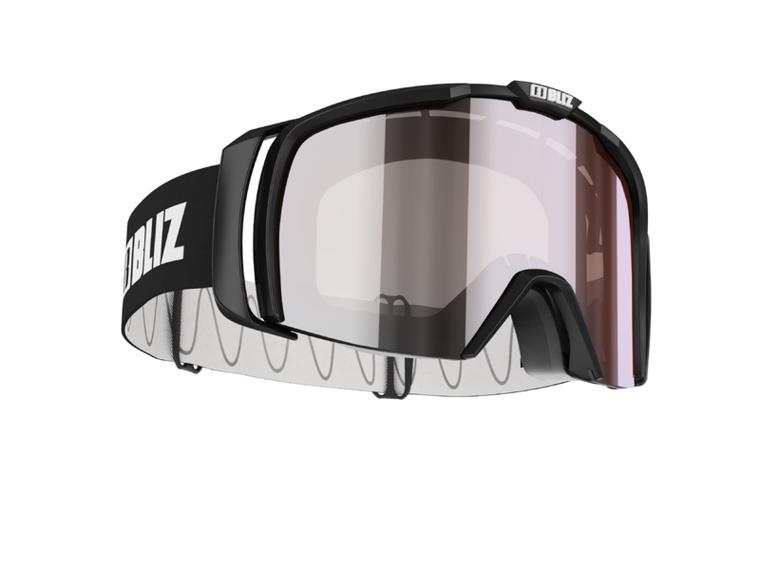 Bliz Nova Small Face, Shiny Black Frame, Smoke with Silver Mirror Lens Bliz 94.95 Enjoy Winter