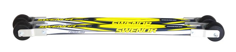 Swenor Fibreglass with #2 wheels Classic Rollerskis 369 Enjoy Winter