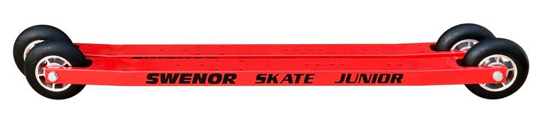 Swenor Skate Junior with #1 wheels and NNN binding Swenor Rollerskis 260 Enjoy Winter
