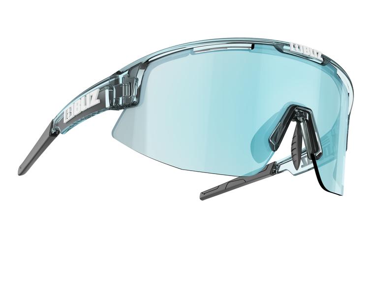 Bliz Matrix, Transparent Ice Blue Frame, Smoke with Ice Blue Multi Lens Bliz™ Sunglasses 84.95 Enjoy Winter
