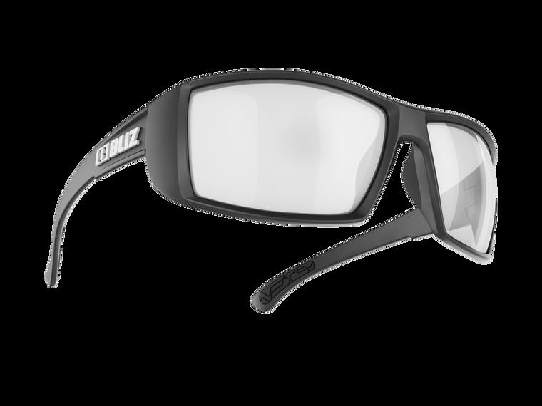 Bliz Drift Polarized, Matt Black, Brown with Silver Mirror Lens