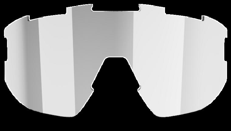 Fusion + Matrix Spare Lens - Smoke with Silver Mirror