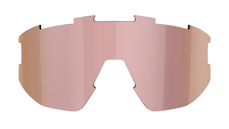 Fusion + Matrix Spare Lens - Brown with Rose Multi