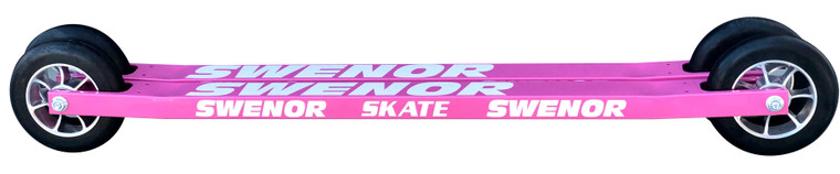 Swenor Skate Aluminum Pink Edition with #2 wheels Swenor Rollerskis 275 Enjoy Winter