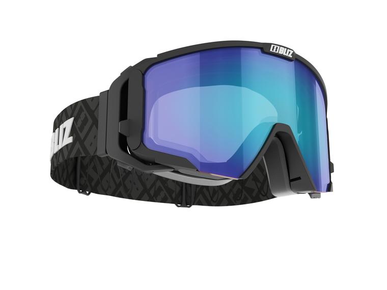 Bliz Switch Nano Optics, Black Frame with Blue-Brown Multi Nano Lens Bliz™ Goggles 189 Enjoy Winter