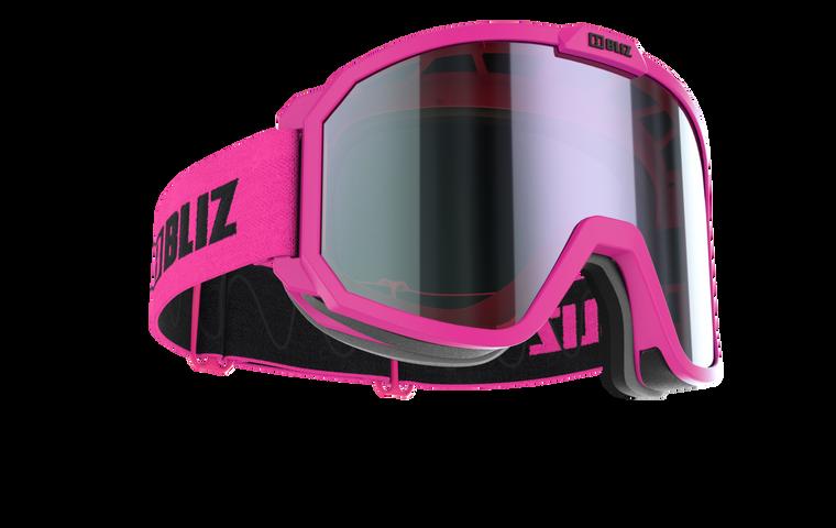 Bliz Rave, Pink Frame with Brown Purple Lens