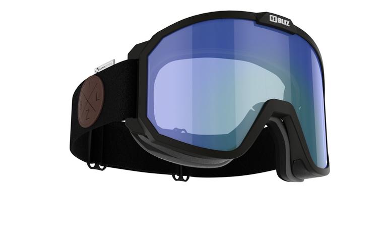 Bliz Rave Nordic Light, Nano Optics, Black Frame with Coral Contrast Nordic Light Lens Goggles 124.95 Enjoy Winter