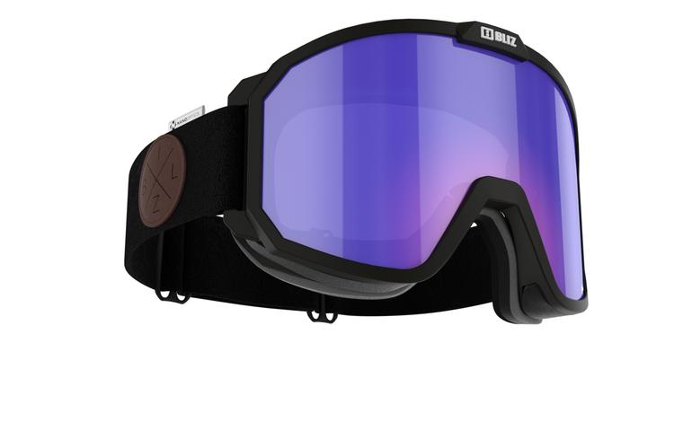 Bliz Rave Nordic Light, Nano Optics, Black Frame with Begonia Contrast Nordic Light Lens Goggles 124.95 Enjoy Winter