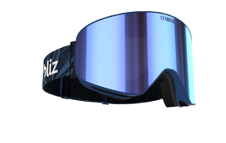 Bliz Flow 12 Black Frame with Brown Blue Multi Lens Goggles 94.95 Enjoy Winter