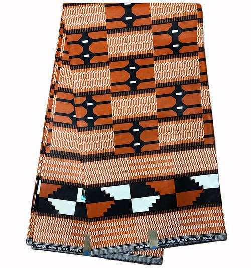 100% Cotton KENTE African Print Fabric