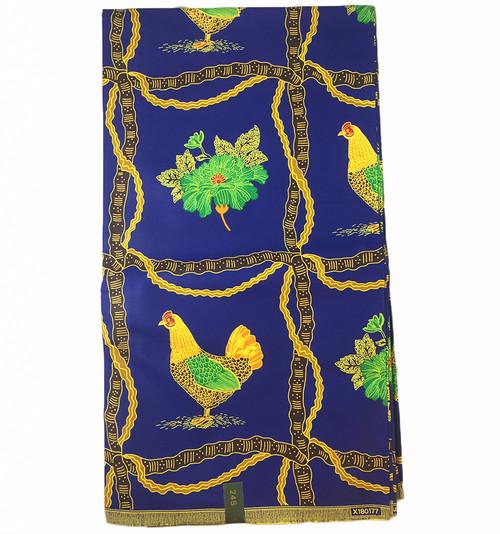 6 Yards African Fabrics - 100% Cotton (SAF0131)