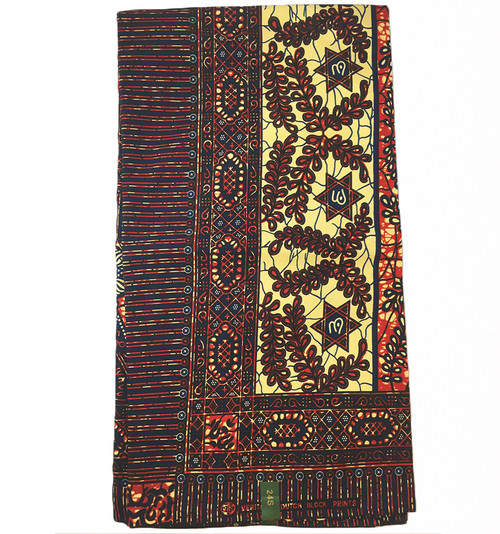 6 Yards African Fabrics - 100% Cotton (SAF0152)