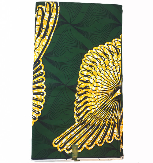 100% Cotton Real Hollande Wax African Print Fabric (SAF0153)