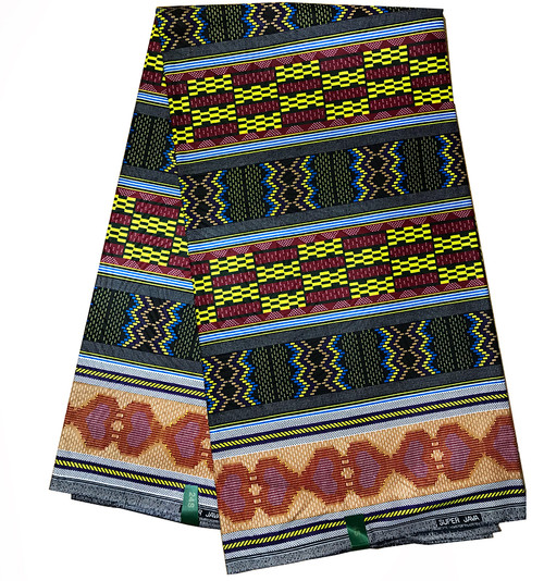 6 Yards KENTE Pattern African Fabrics