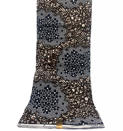 6 Yards SUPER WAX African Fabrics - 100% Cotton (SSW0105)