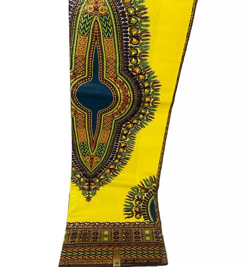 6 Yards Dashiki African Print Fabrics - 100% Cotton (SDA0111)