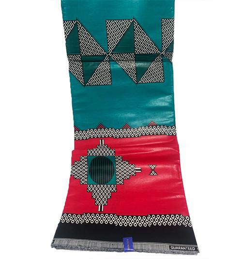 6 Yards African Fabrics - 100% Cotton (SAF0183)