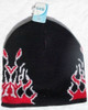Black Holiday Knit Winter Warm Beanie Ski Hat