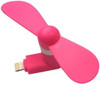 iphone ipad 8pin Portable  Cooling Cooler Fans Fan- Pink