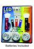 LED 8in1 Flashlight Value Pack