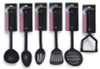6-Piece Chef Nylon Kitchen Utensil Gift Set-High Heat