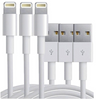 Deluxe Combo Pack:  3ft, 6ft,10ft (10ft is Heavy Duty Extra Thick) Apple iOS MFI Certified 8 pin Lightning Charging Cable/ Data Sync Cable for iphone 5, 5s, 5c, 6, 6 Plus, 6s, 6s Plus, 6se,7,8,8plus,X