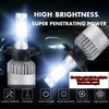 BLACK BEAST® WORLD'S BRIGHTEST H4 LED Headlights CREE H4 HB2 9003 1500W 225000LM