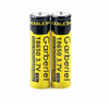 Two 18650 3.7v 18650 RECHARGEABLE 5000mAh Genuine GARBERIEL button-top batteries