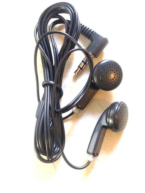 Black Mini Earmuffs Audio Headset