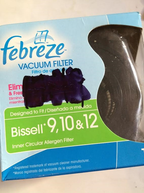 Fabreeze Vacuum Filter for Bissell 9, 10 & 12 - Elimates Odors