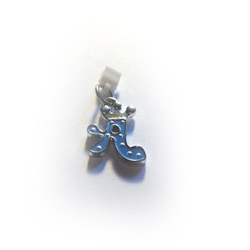Pop Girl Ear Bud Charm: Letter A