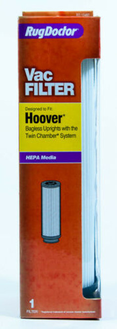 Rug Doctor Vacuum Filter Hoover Bagless Uprights Twin Chamber System RD10487