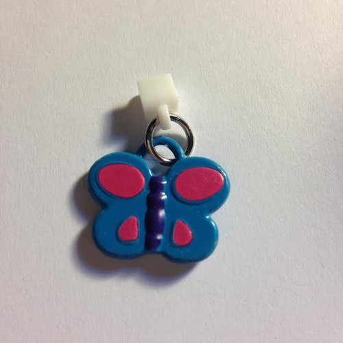 Pop Girl Ear Bud Charm: Butterfly