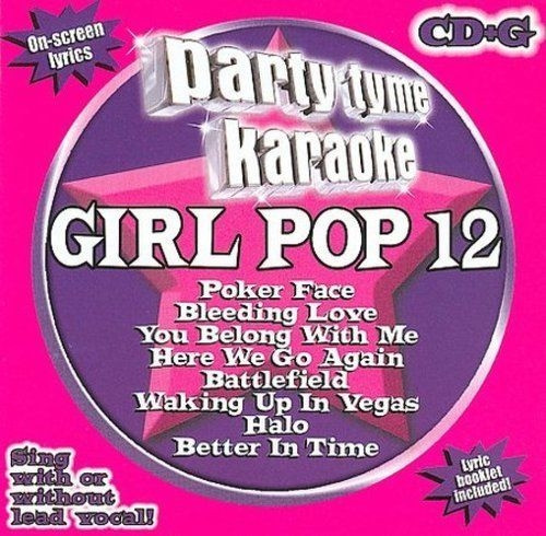 Party Tyme Karaoke Girl Pop 12