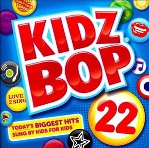 Kidz Bop 22 - Kidz Bop Kids (2012, CD NEW)