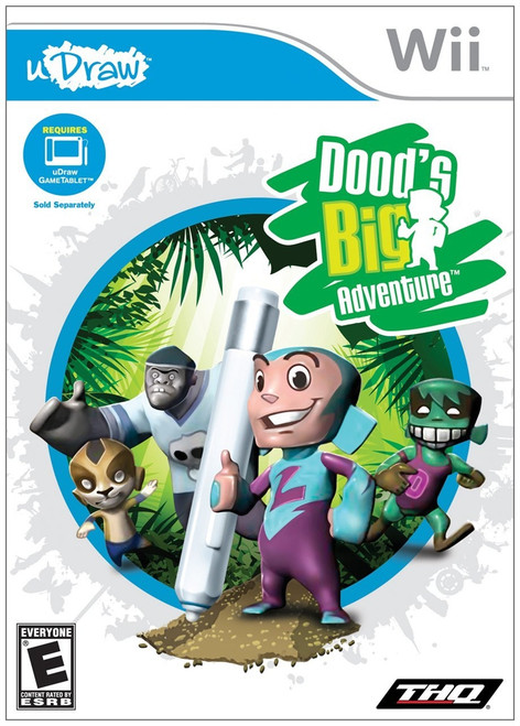 Udraw: Dood's Big Adventure For(Nintendo Wii)