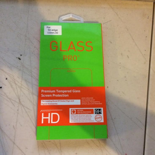 Glass Pro for S6 edge 0.33 2.5 D