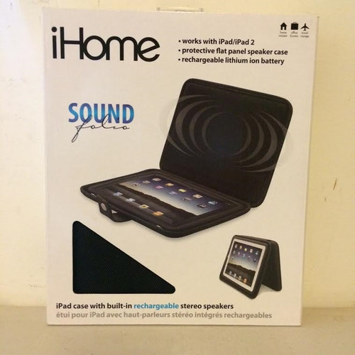 iHome Sound Folio Works With ipad/ iPad 2 -iDM69B