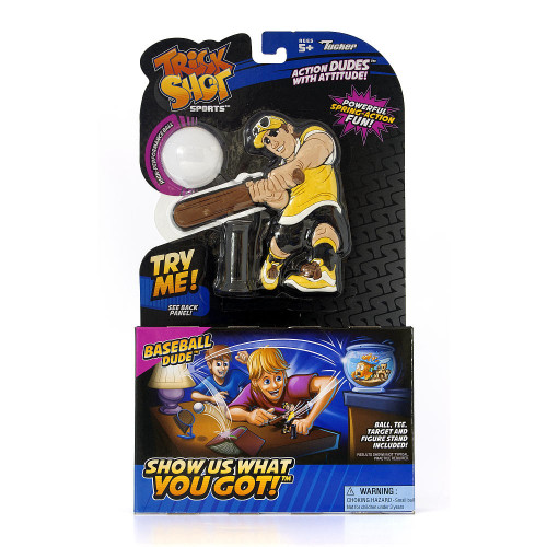 Trick Shot Sports Action Figure