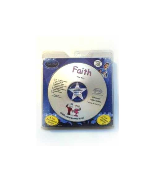 ✅KID HIP Personalized Name (Faith) CD- Hear Your Child's Name 50x In The Music