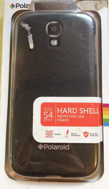 Polaroid Hardshell Black case for Samsung s4