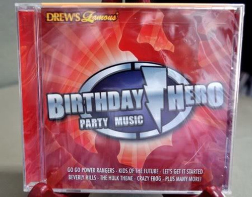 Birthday Hero Party Music  CD
