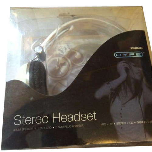 Hype White Stereo Headset hy-820-dj