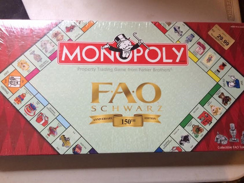 Monopoly  Property Trading Game - Parker Brothers - 150th Anniversary Edition