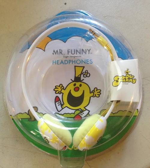 Roger Hargreaves Mr Funny Headphones