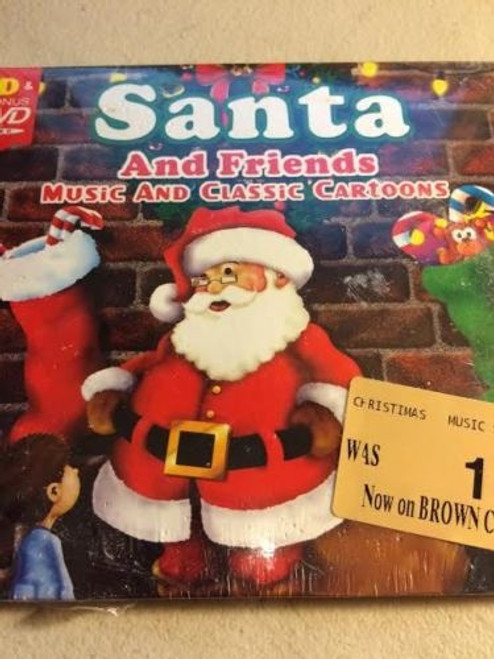 ✅ Santa And Friends Music And Classic Cartoons Cd