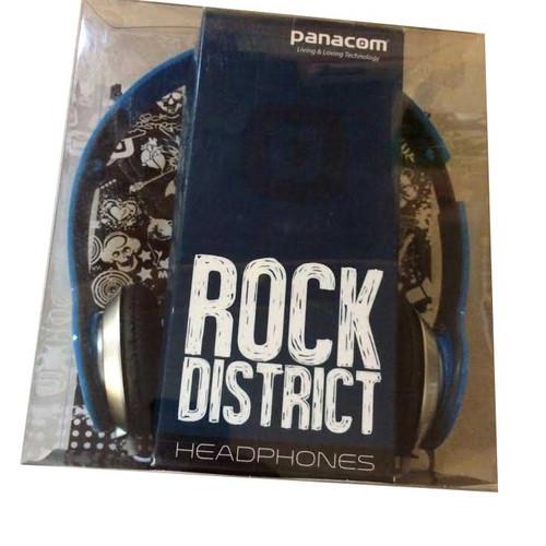 ✅Panacom Blue Rock District Headphones
