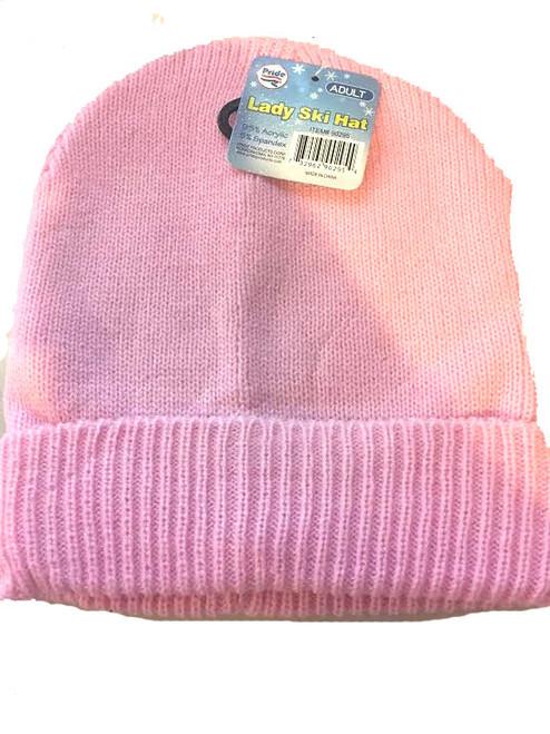 ✅ Ladies/Men Unisex Ski Beanie Pink